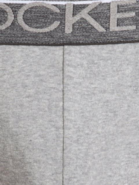 Grey Melange Modern Brief Pack of 2