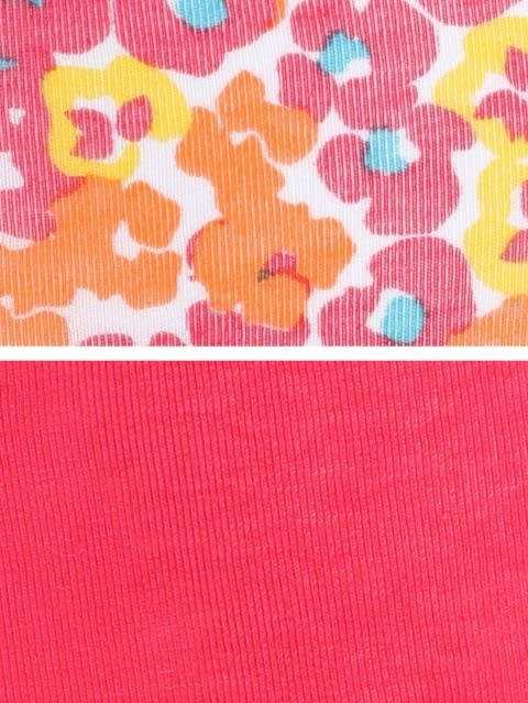 Ruby & Assorted Print Girls Panty Pack of 2