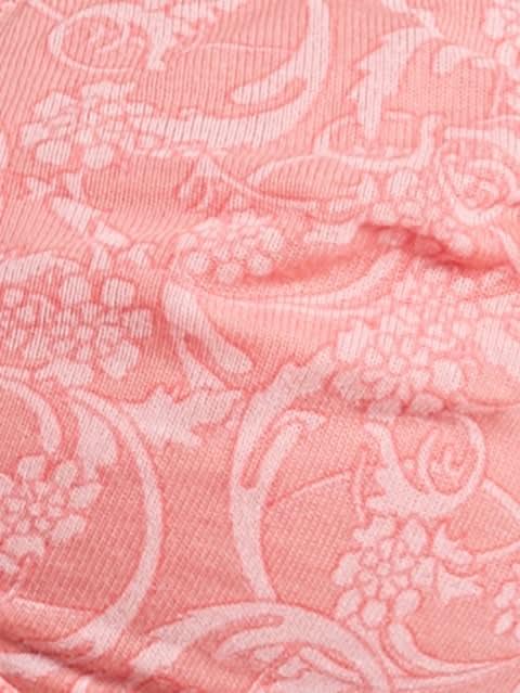 Peach Blossom Print221 Seamless Shaper Bra