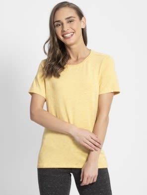 Banana Cream Snow Melange T-Shirt