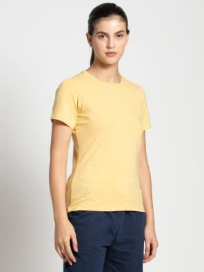 Banana Cream Snow Melange T-Shirt