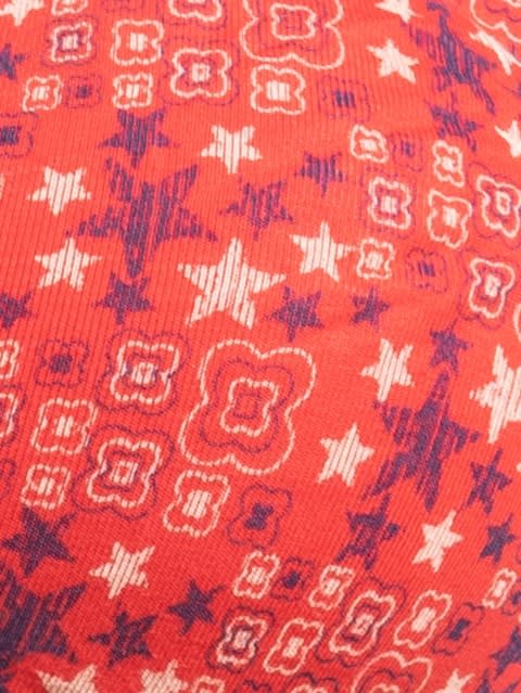 Hibiscus Red Print294 Shaper Bra