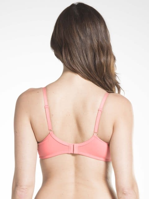 Blush Pink Crossover Side Support Bra