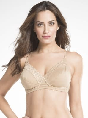Skin Crossover Side Support Bra