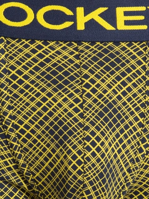 Navy & Empire Yellow Printed Trunk