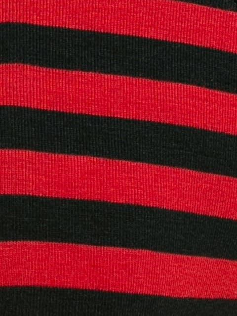 Black & Worldly Red Brief