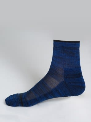 Navy & Cobalt Blue Men Ankle Socks