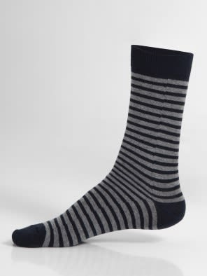 Navy01 Crew Socks
