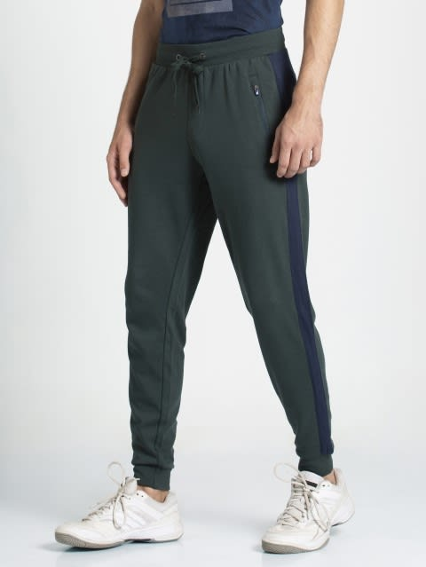 Green Gabels & Navy Jogger