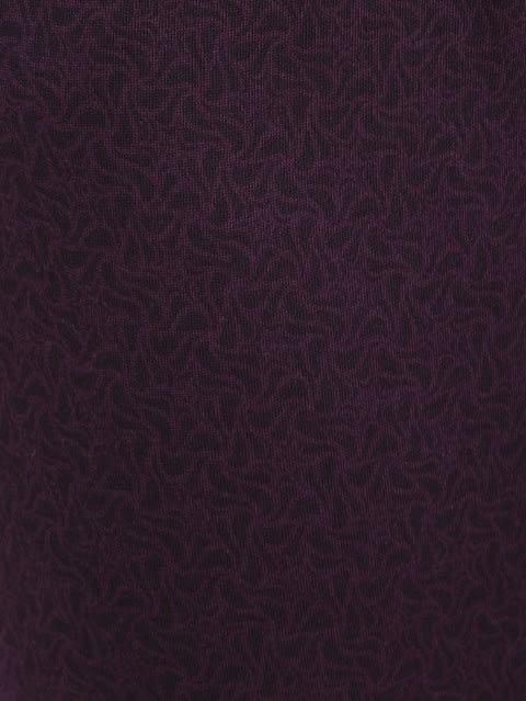 Purple Wine Slim Fit Capri