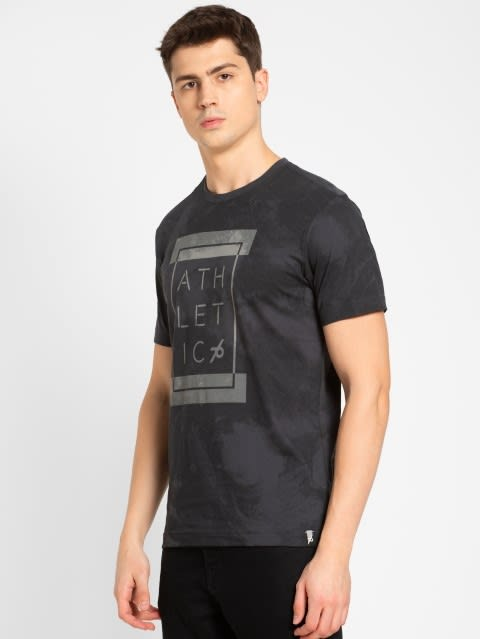 Graphite Print Sport T-Shirt