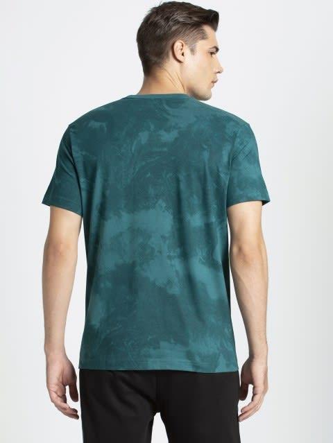 Pacific Green Print Sport T-Shirt