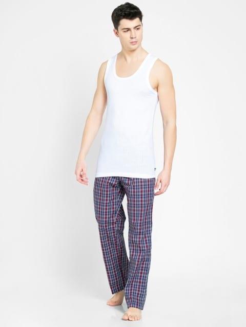 Navy & Red Check282 Pyjama
