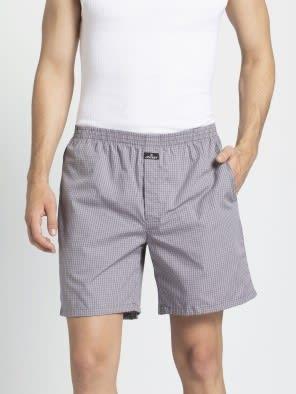 Black & White Check Combo9899 Boxer Short Pack of 2