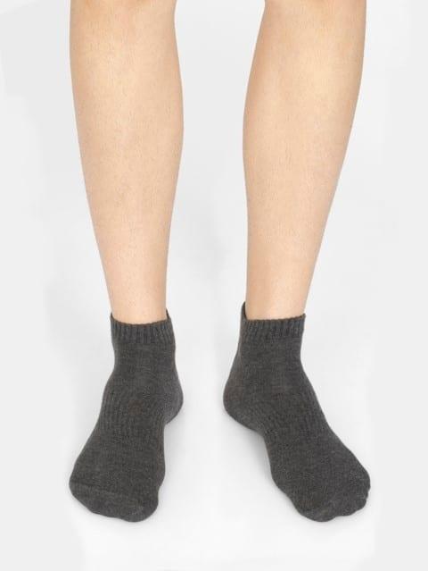 Khaki Men Low Show Socks