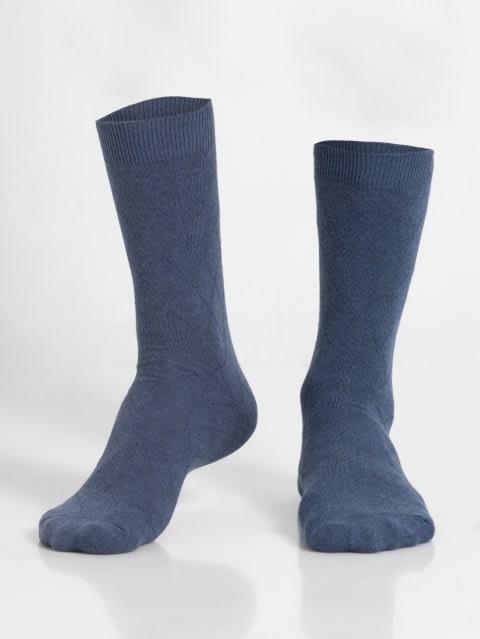 Denim Melange Des2 Calf Length Socks