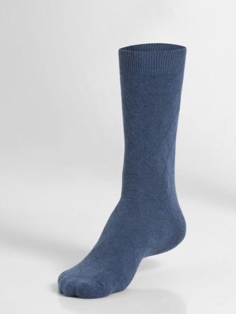 Denim Melange Des2 Men Calf Length Socks