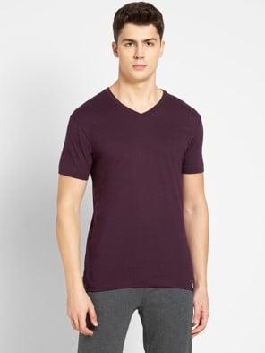 Plum Perfect V-Neck T-shirt