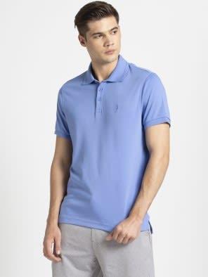 Iris Blue Polo T-Shirt