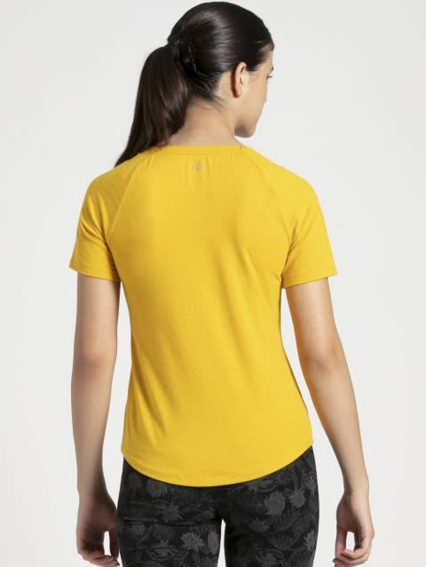 Golden Rod Melange T-Shirt