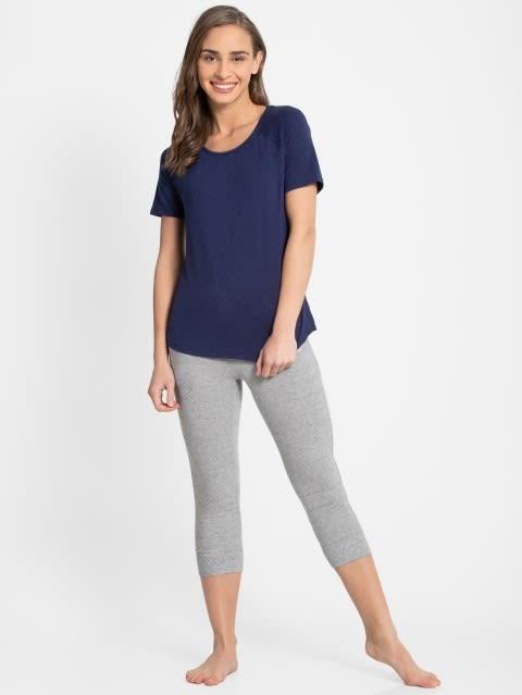 Imperial Blue Melange T-Shirt