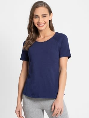 Imperial Blue Melange T-Shirt