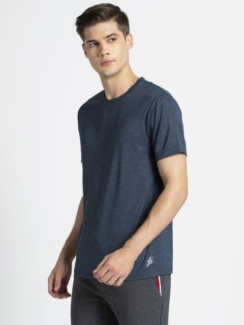 Navy Melange T-Shirt