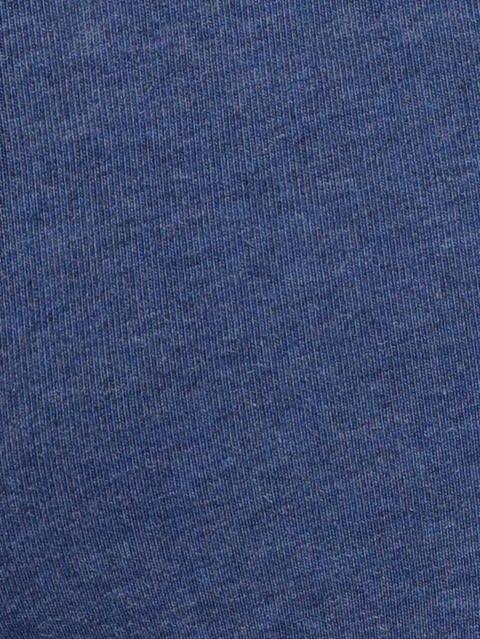 Denim Blue Melange Capri