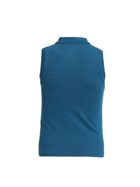 Maxi Blue Tank Top