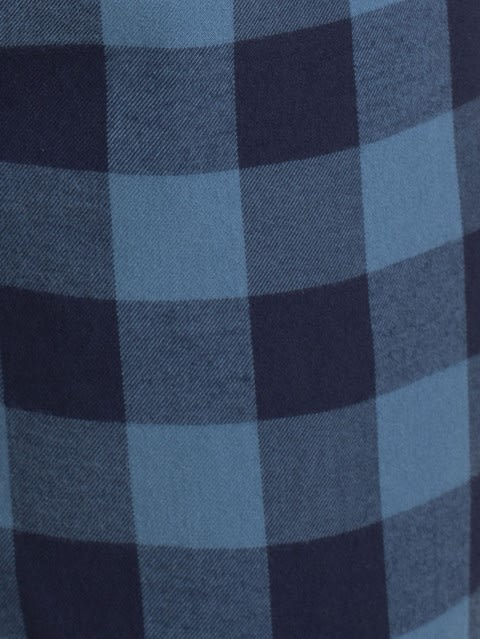Blue Checks Woven Bermuda