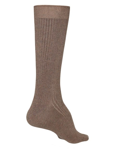 Brown Melange S1 Men Casual Socks