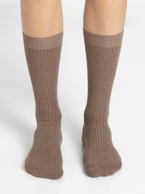 Brown Melange S1 Men Casual Socks
