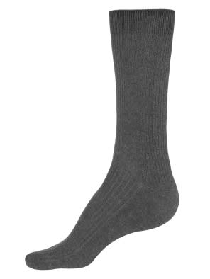 Charcoal Melange S1 Men Casual Socks