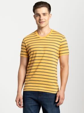 Insignia Blue & Burnt Gold T-Shirt