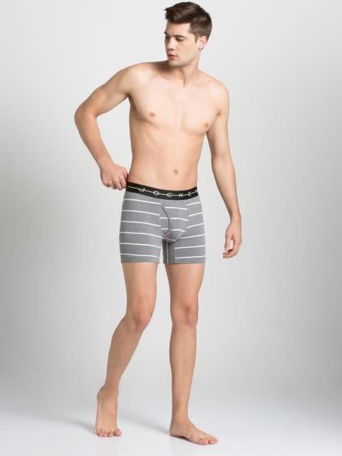 Mid Grey with Black Des09 Boxer Brief