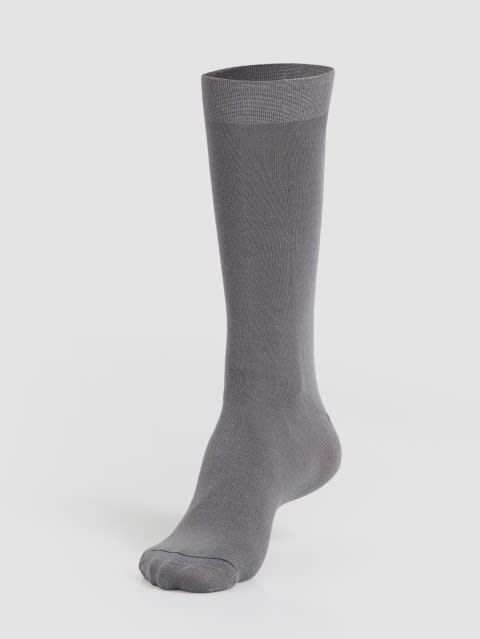 Mid Grey Men Formal Socks