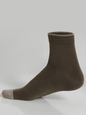 Olive Men Ankle Socks