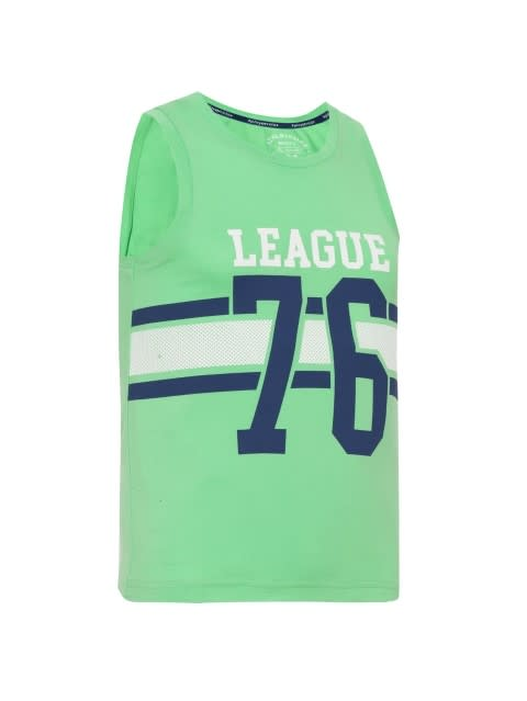 Spring Boutique Printed Muscle Tee