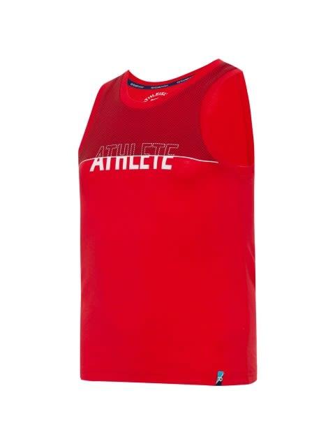 Team Red Printed Muscle Tee