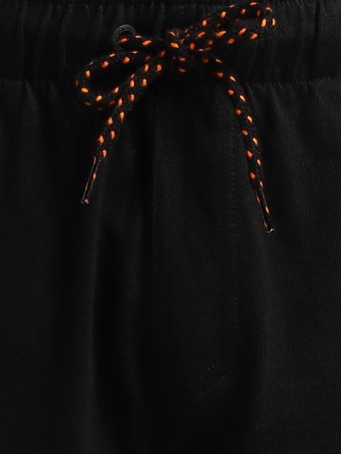 Black & Golden Poppy Track Pant