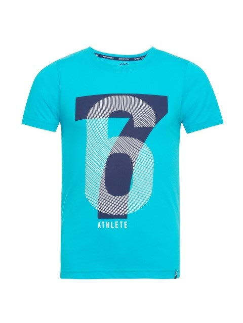 Scuba Blue Printed T-Shirt