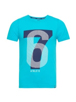Scuba Blue Printed T-Shirt