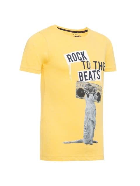 Corn Silk Printed T-Shirt