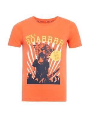 Ember Glow Printed T-Shirt