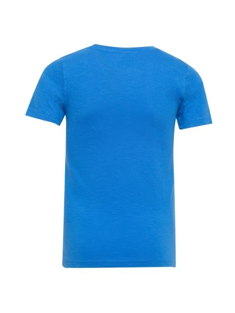 Palace Blue Printed T-Shirt