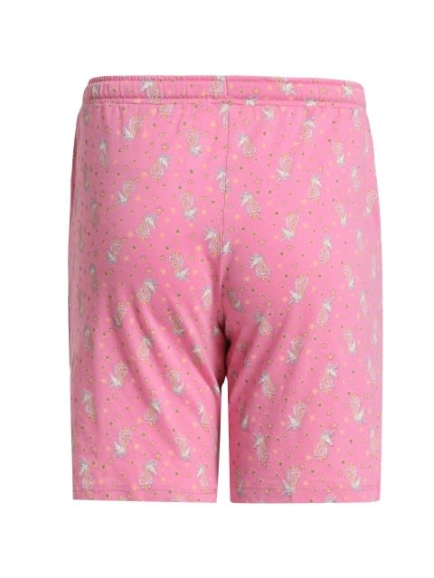 Wild Orchid Printed Shorts