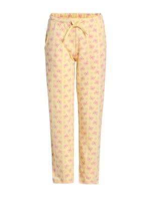 Pale Banana Printed Pyjama