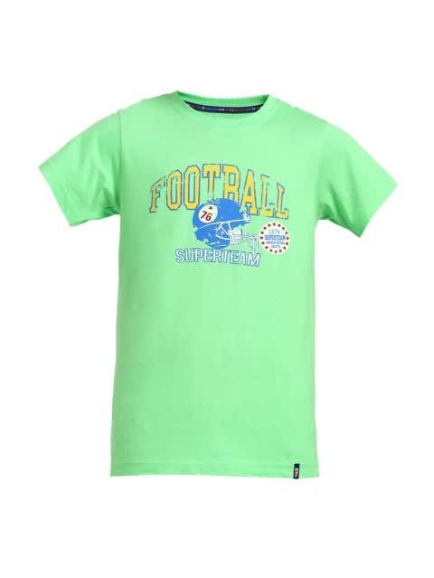 Summer Green Printed T-Shirt