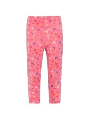 Pink Carnation Printed Leggings