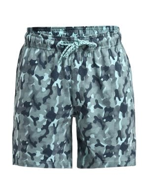 Chalk Blue Camouflage Shorts